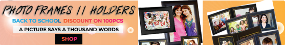 Back to School Discount on 100PCS+ Photo Frames and Custom Photo Album Covers