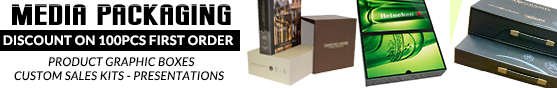 Summer Discount on 100PCS+ of Media Packaging - Product Graphic Boxes