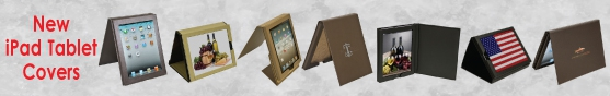 Educators or Hospitality for New Leather iPad Tablet Covers