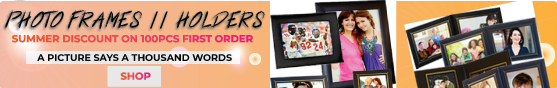 Summer Discount on 100PCS+ Photo Frames and Custom Photo Album Covers