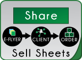 Share E-Flyers or Sell Sheets to Clients for More Orders