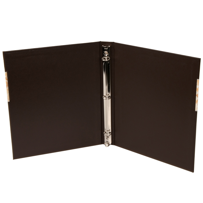 "10BLE 1/2"" To 1-1/2"" Inch Leatherette 3 Ring Binders"