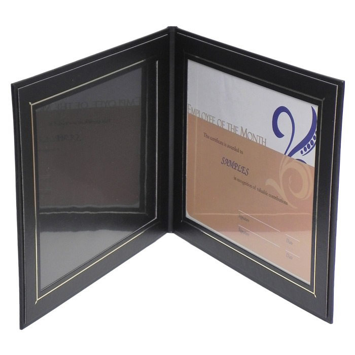 20f 8 x 10 landscape superior double photocertificate frame - Double Frames