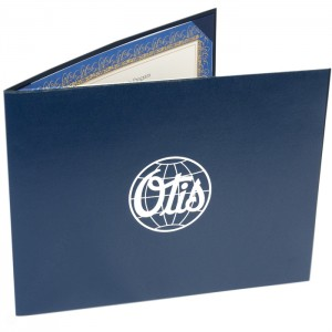"""Quality Certificate Cover – 5 1/2 × 7 1/2"""""""