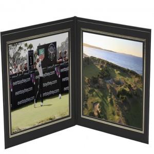 Photo Frames-Double Frame-Book or Landscape