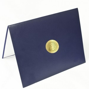 """Quality Certificate Cover – 6 1/2 × 8 1/2"""""""