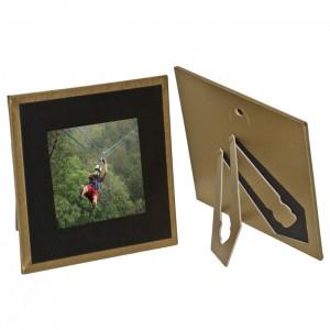 Polaroid Photo Holders-Frame Gold Border -Carolina