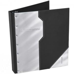 Aluminum Deco Turned Edge Binder