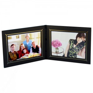 """LL Superior Double Photo/Certificate Frames - Landscape Style - 5 x 7"""""""