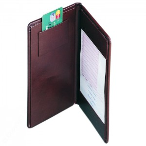 Guest Check Presenters-2 Horizontal Pockets + Credit Card Pocket