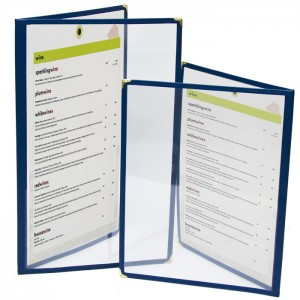 Cafe Menu Covers-Double Panel-8 1/4 ×14