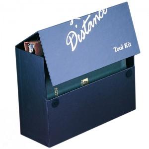 Small Media Box with velcro closure