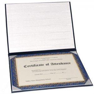 """Deluxe Certificate Covers - Flat Cover – 8 × 10"""""""
