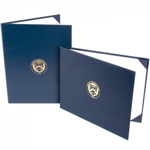"""Deluxe Saver Certificate Covers - White 15 pt. Board Liner - 8 1/2 × 10 1/2"""""""
