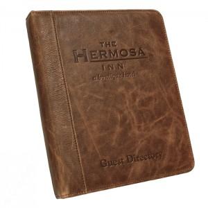 Look Book BM - The Hermosa Custom Leather Ring Binder