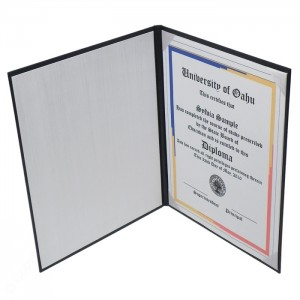 """Deluxe Certificate Covers - Flat Cover – 6 × 8"""""""