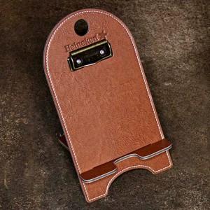 Custom Leather Contact-Less Menus