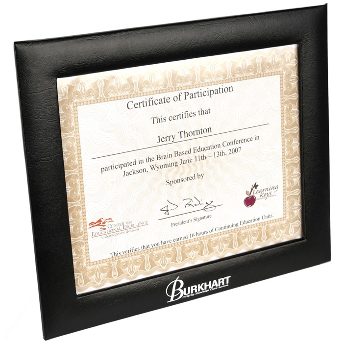 18g Padded 8 12 X 11 Certificate Photo Frame