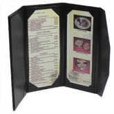 Menu Cover 114 Trifold Table Tent