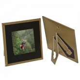 Polaroid Photo Holders-Frame Gold Border -Carolina