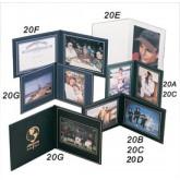 "Superior Double Photo/Certificate Frames-Landscape Style-7 x 8-3/4"""