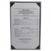 Pocket Menu Covers-Single Panel-8 1/2 × 14""