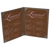26ELE Pocket Menu Covers-Double Panel-8 1/2 × 11""