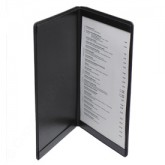Pocket Menu Covers-Double Panel-8 1/2 × 14""