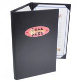 Pocket Menu Covers-Three Fold-8 1/2 × 14""