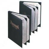 Pocket Menu Covers-Book Style 4 View-8 1/2 × 14""