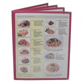 Cafe Menu Covers-Book Style Four Panel-8 1/2×11
