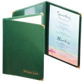 Classic Menu Covers - 2 Panel - 8 1/2 × 11""