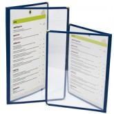 Cafe Menu Covers-Double Panel-8 1/2×11