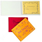 Autograph Book (50 white pages)