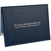 Deluxe Certificate Covers - Padded Cover – 5 × 7""