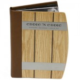 Eddie 'N Eddie Wood Barrel Menu Covers