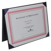 Deluxe Certificate Covers - Flat Cover – 5 1/2 × 7 1/2""
