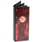 custom copper menu covers