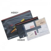 Heat Sealed Zippered Pouch - Large