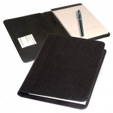 Bonded Leather Padholder with Round Corners