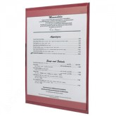 Pocket Menu Covers-Single Panel-8 1/2 × 11""