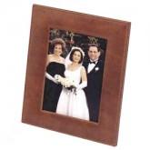 Glazed Old World Photo Frame w/ Easel - Large
