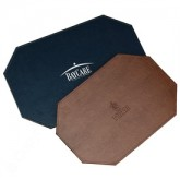 Leather Placemat: Octagonal or Rectangular