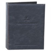 Top Grain Leather Wine List Menu Binders