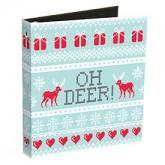 Oh Deer Ugly Sweater Ring Binders