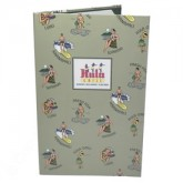 "Kula Printed Litho Wrap Pocket Menu Cover 8-1/2 x 14"" PLW1"