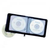 Vinyl Zippered CD Holder