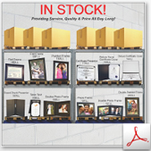 152-In Stock-LL-Hospitality Certificate Photo Frames thumbnail