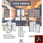 179 Cafe Menu Covers Thumbnail