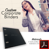 180 Custom Corporate Binders Thumbnail